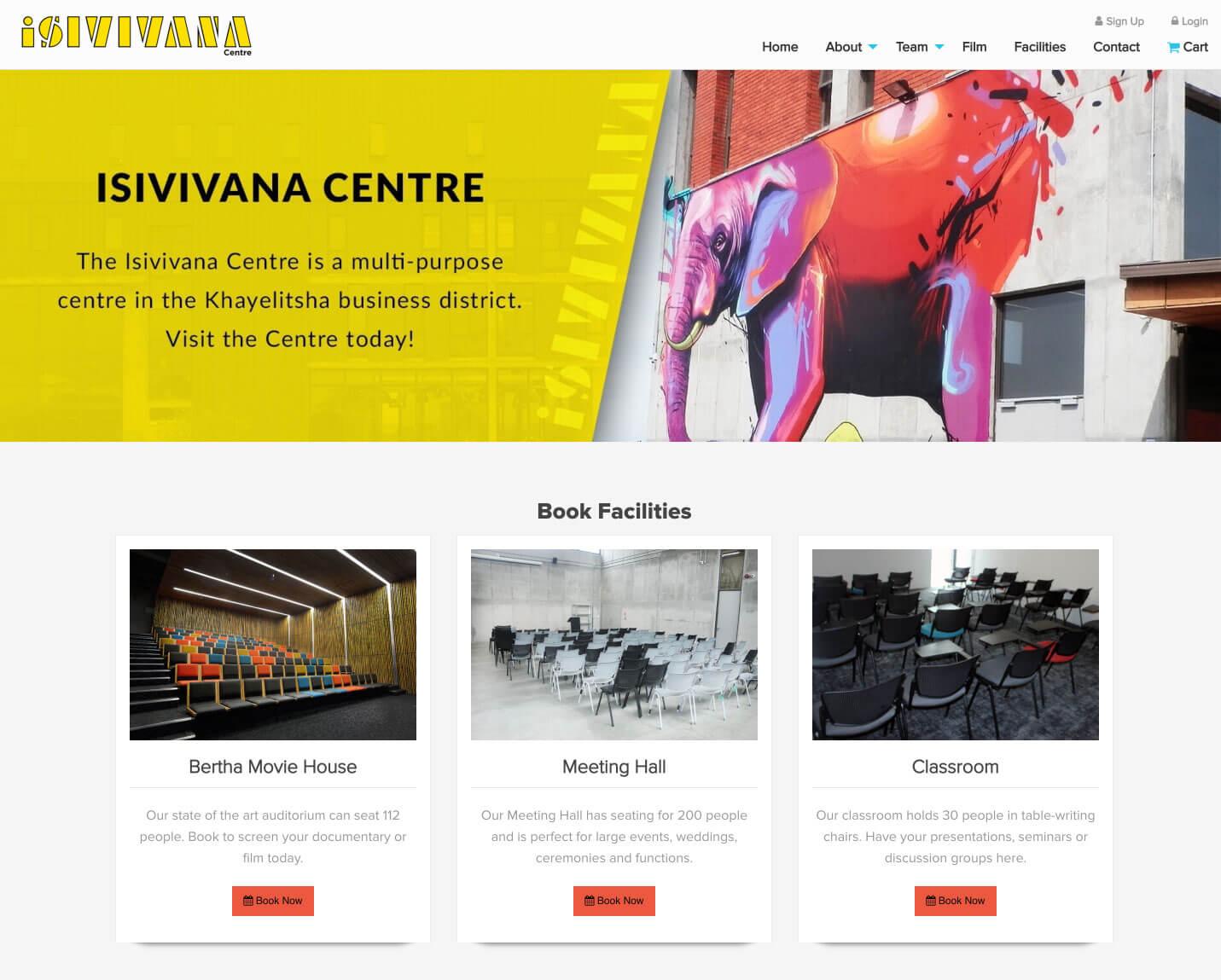 Isivivana Home Page